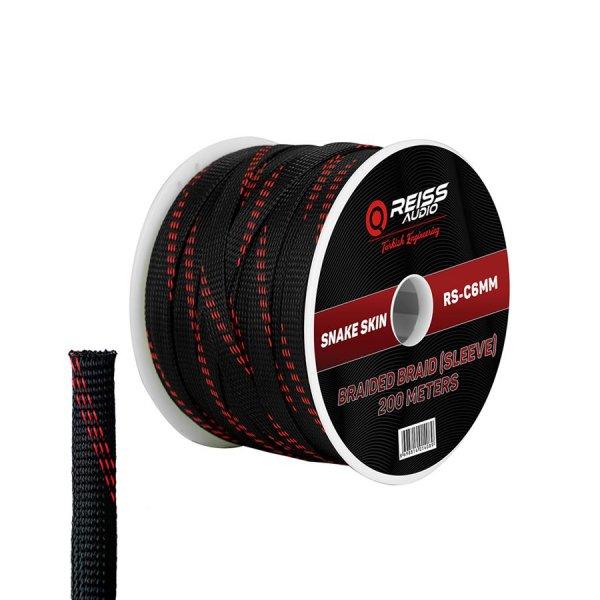 Reiss Audio RS-C6MM Sleeve Kablo 6 mm
