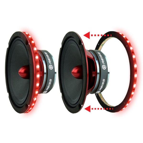 Reiss Audio LED Ring 20 Cm Subwoofer ve Midrange Ledi