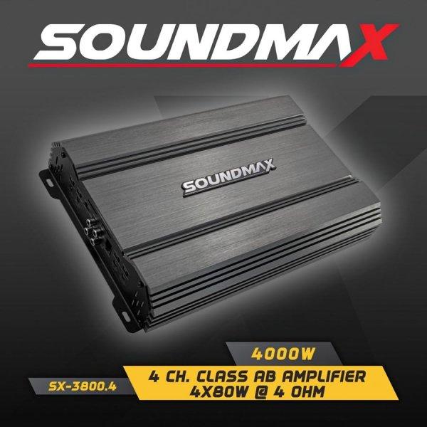 Soundmax SX3800.4 4 Kanal Amfi
