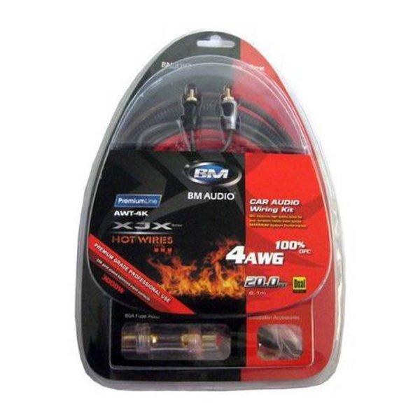 Boschman AWT4K 4GA Kablo Seti