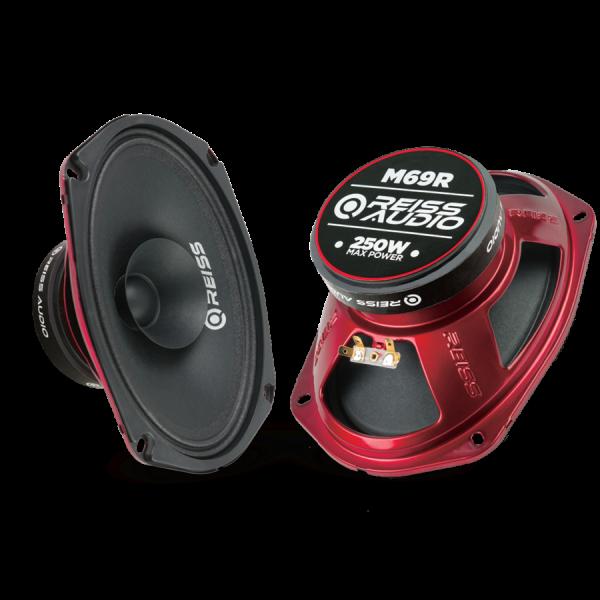 Reıss Audio RS-M69R Oval 6x9 Midrange