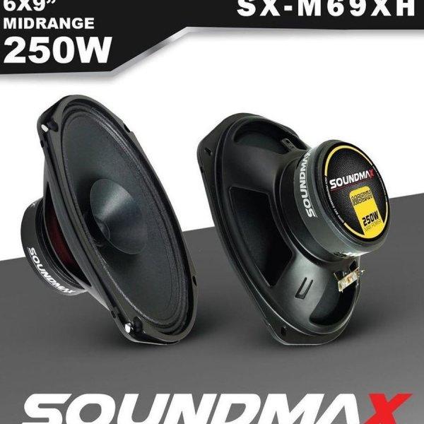 SOUNDMAX SX-M69XH Oval Midrange