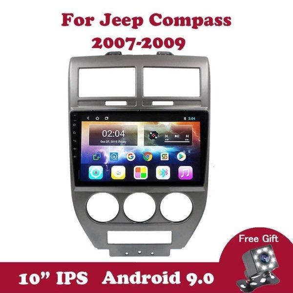 JEEP COMPASS 10'' 2007/2009 Model Oem Multimedya