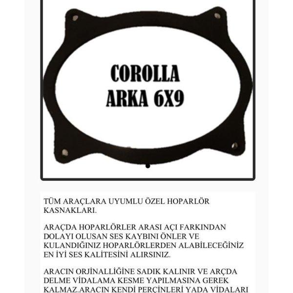 TOYOTA COROLLA ARKA 6X9 OEM HOPARLÖR KASNAK