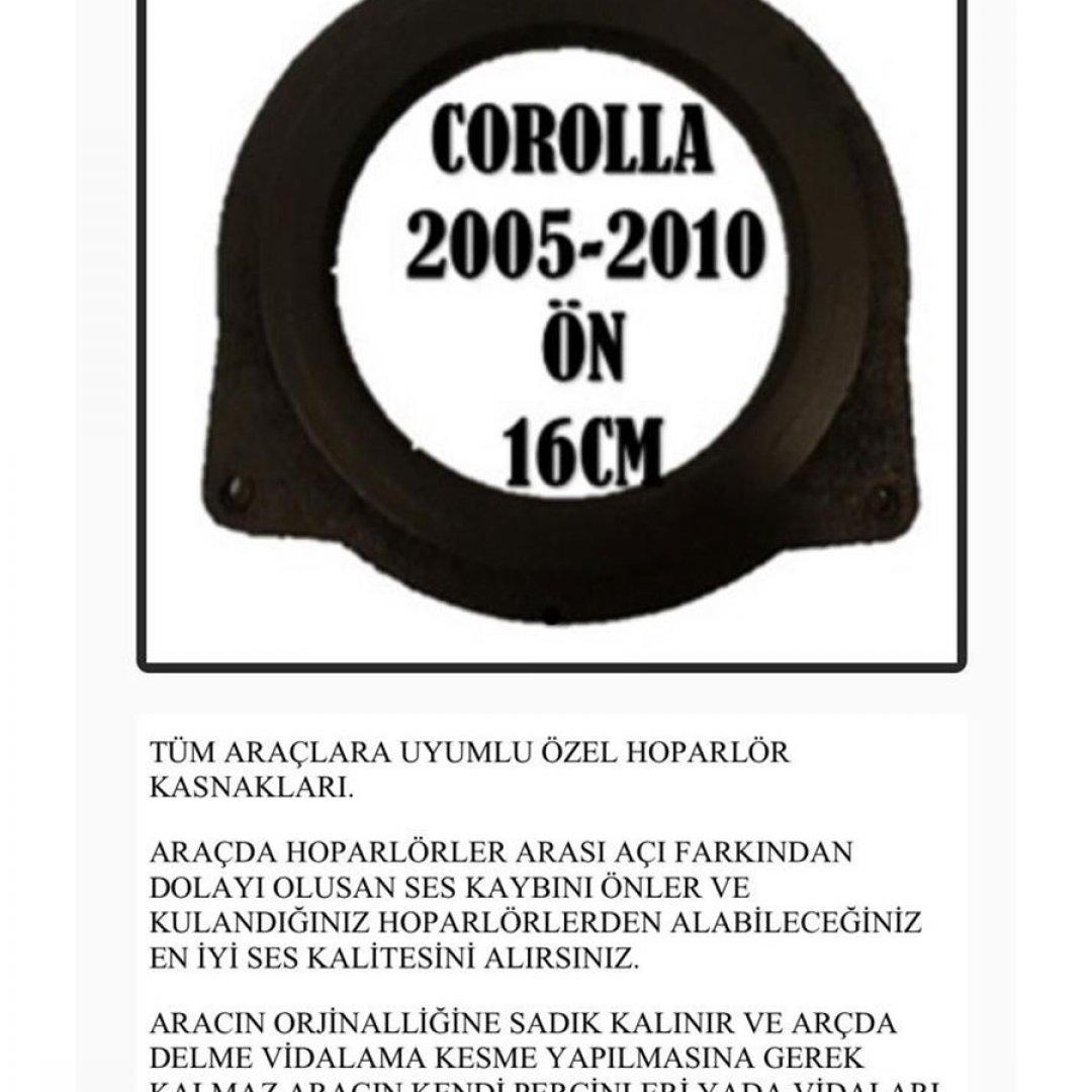 TOYOTA COROLLA 2005-2010 ÖN 16 CM OEM HOPARLÖR KASNAK
