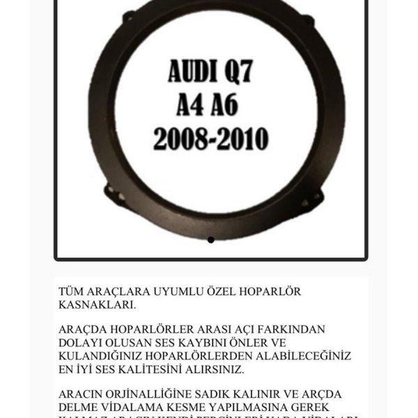 AUDİ Q7-A4-A6 2008-2010 OEM HOPARLÖR KASNAK