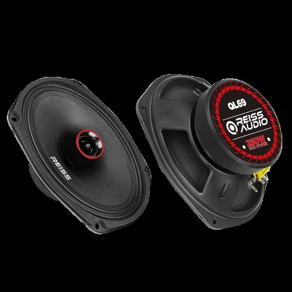 Reiss Audio RS-QL69 6X9 Oval Midrange Çift