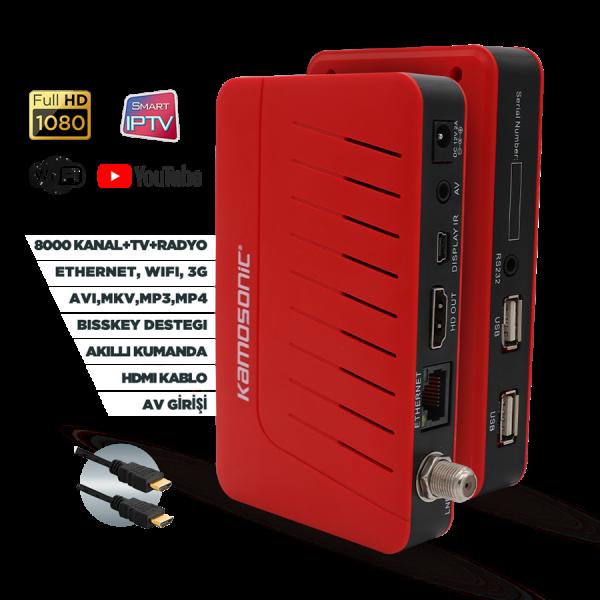 Kamasonic KS-HD10507  Smart Tv Kutusu